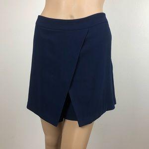 Lauren Ralph Lauren Skort Skirt Navy Blue Career